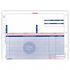 Invoices - Hollander 3-Part with Warranty Back