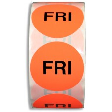 """FRI"" 2"" Adhesive Label"