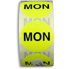 """MON"" 2"" Adhesive Label"