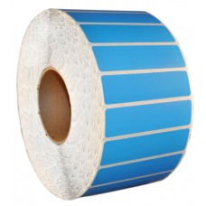 Rack Location Labels - Thermal Transfer - Blue