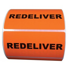 Redeliver Label- CF RECYCLER SUPPLY