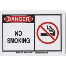 Warning Sign-DANGER NO SMOKINGAluminum