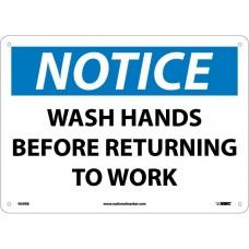 COVID-19 HAND WASH SIGN