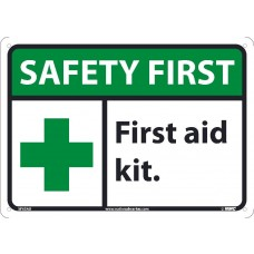 Warning Sign-SAFETY FIRST-Aluminum