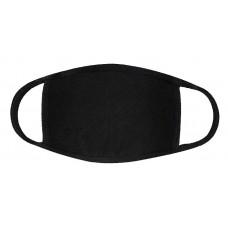 Face Mask Black Cotton/Spandex