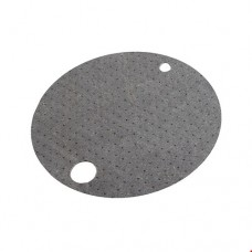 Universal Gray Drum Top Absorbent Pads
