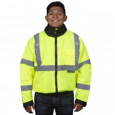 Cordova Reptyle™ Quilted Bomber Jacket - Lime