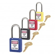 "Lock Out Padlocks 1 3/4"" Body & 1 1/2"" Shackle"