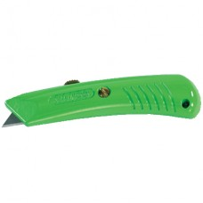 Utility - Utility Knife Safety Grip Die Cast Metal Neon Green