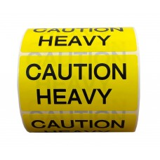 Precautionary Labels - Caution Heavy