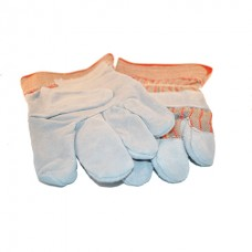 Gloves - Leather - Single Leather Palm - 12 Pairs