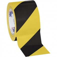 Black/Yellow Safety Tape 3""