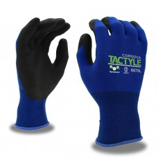 Gloves - Cordova TACTYLE™,Blue Knit Gloves Cut Level A1