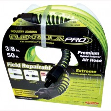 "Air Hose Flexzilla® Pro Series, 3/8"" x 50'  1/4"" MNPT Fittings"