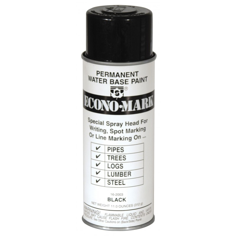 Black Seymour Econo-Mark Marking Paint