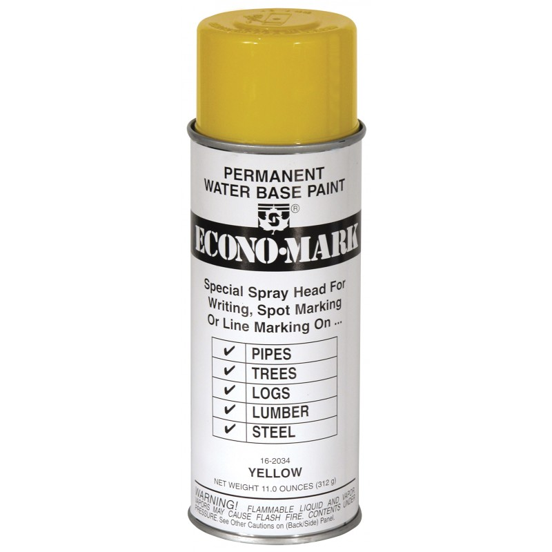 Yellow Seymour Econo-Mark Marking Paint