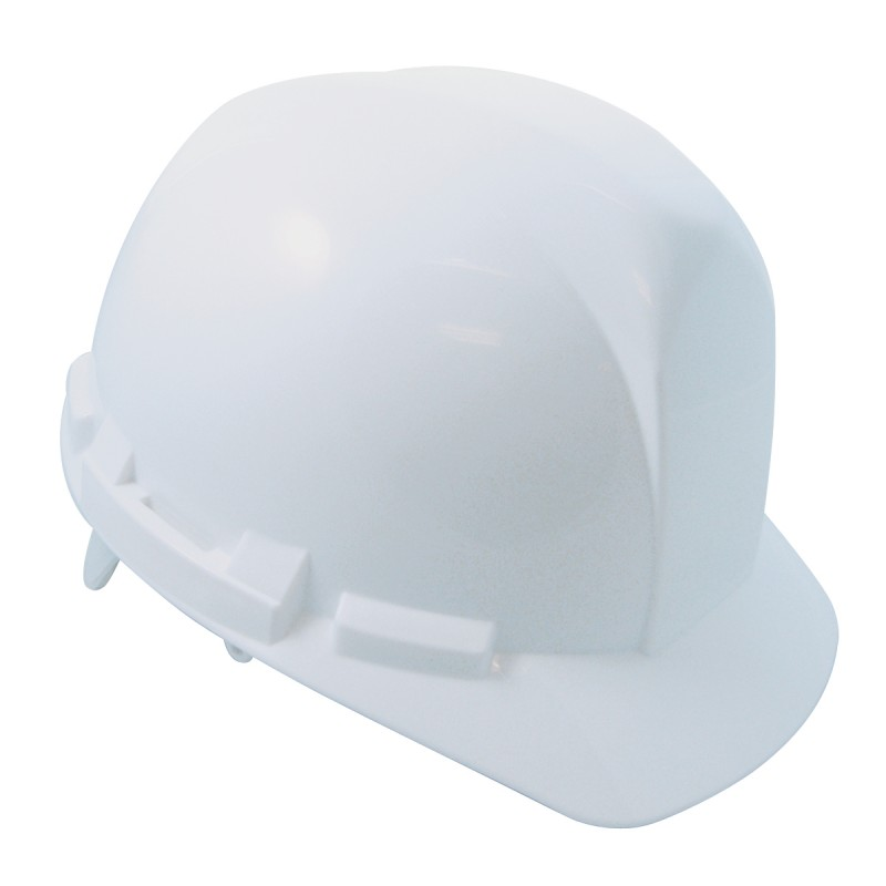 Hard Hat with 6-point ratchet- WHITE