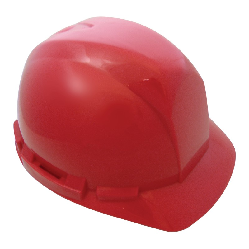 Hard Hat with 6-point ratchet- RED