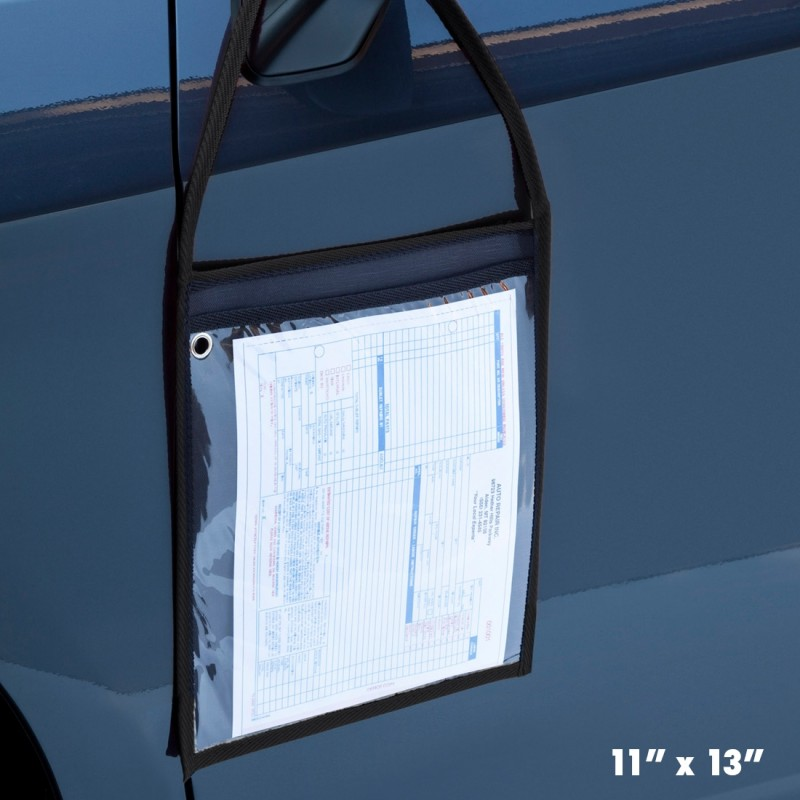 Repair Order Holder on Car