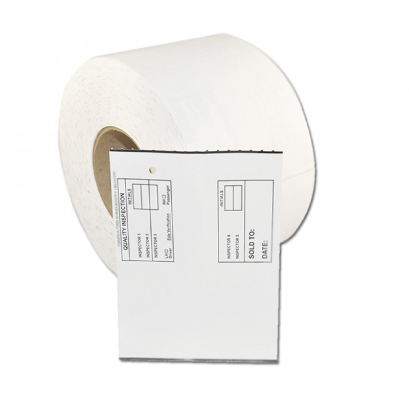 Part Tags Thermal-Hollander & I-Soft Thermal Transfer