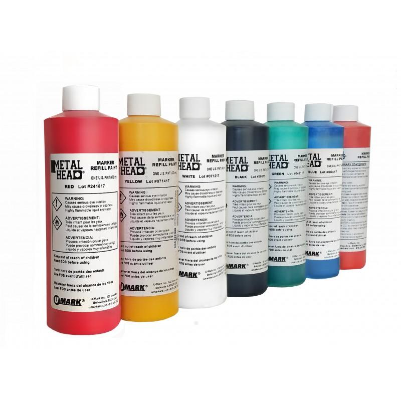 METALHEAD Pint Paint Refills- CF RECYCLER SUPPLY