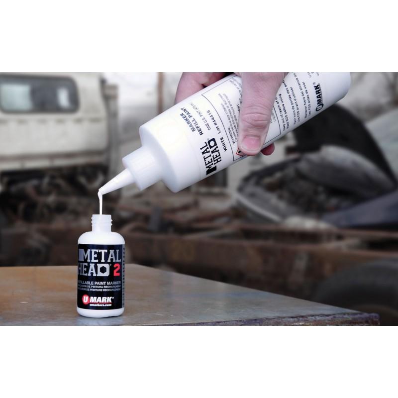 Metalhead refill in use
