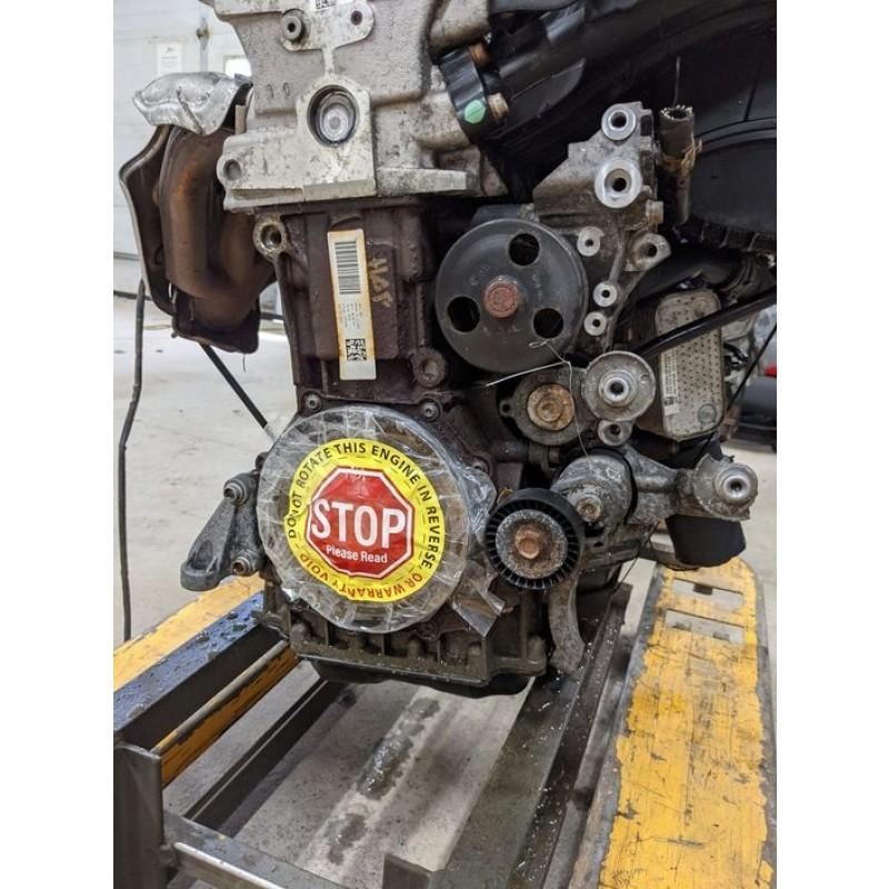 ENGINE ROTATION WARNING LABELS