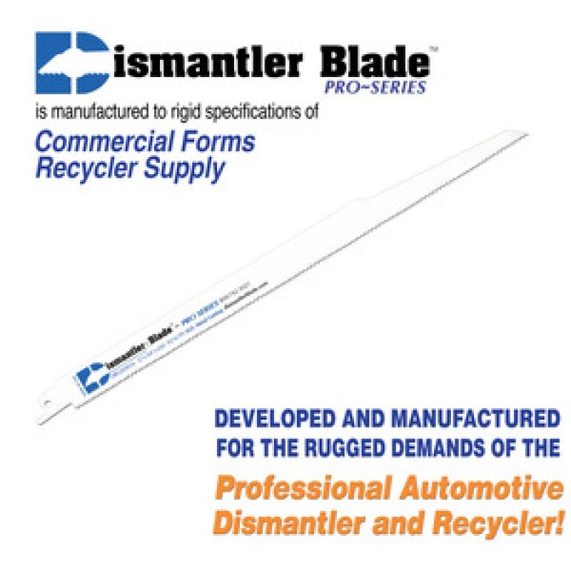 "Dismantler Blade Reciprocating Saw Blade 12"""