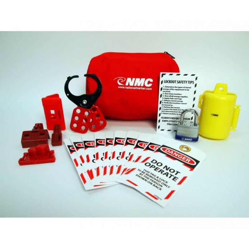Lock Out Tag Out Kit - Electrical