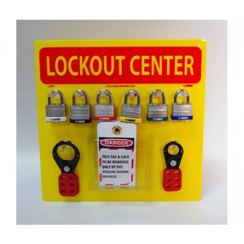 Lockout Tag out center