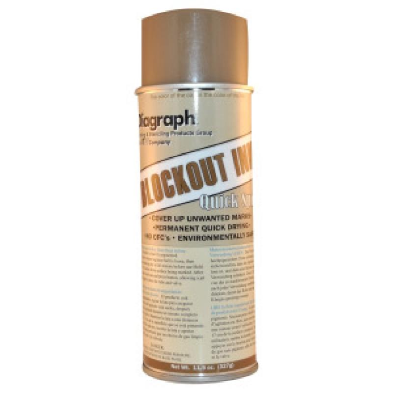 Blockout Box Spray Ink - Tan