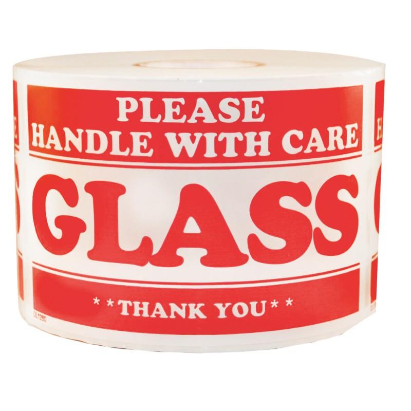 Precautionary Labels - Glass