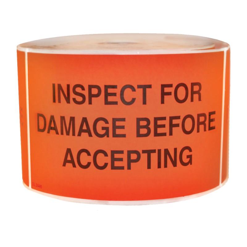 Precautionary Labels - Inspect For Damage