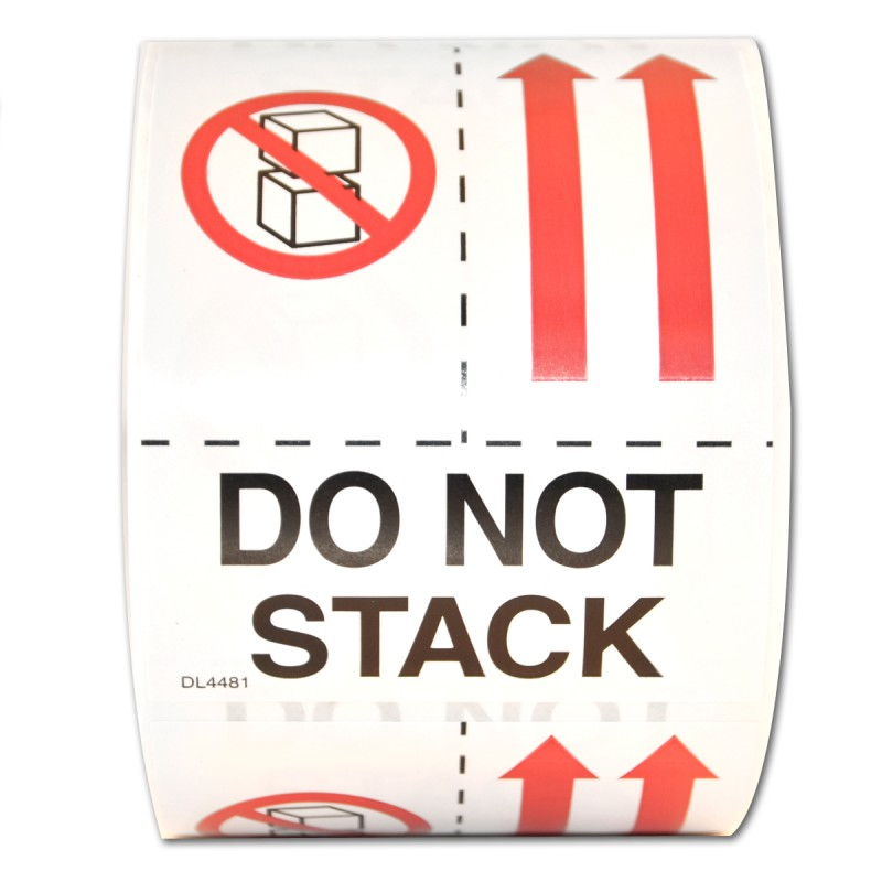 Precautionary Labels - Do Not Stack