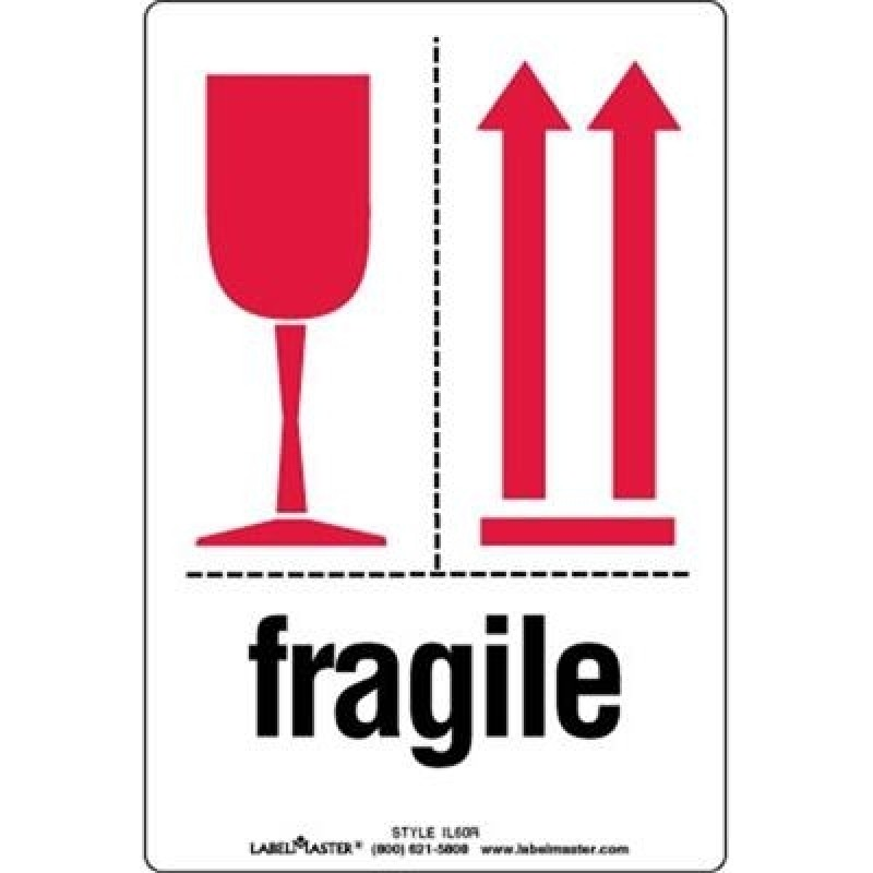 Precautionary Labels - Fragile This Side Up