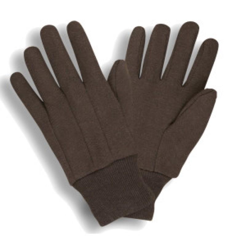 Gloves - Jersey, Brown