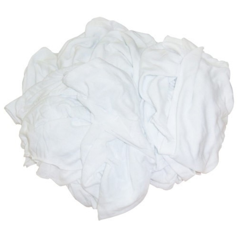 Shop Rags New Washed & Bleached 25#