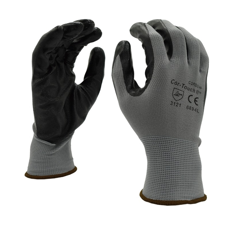 Gloves - Nitrile Coated Palm Gloves