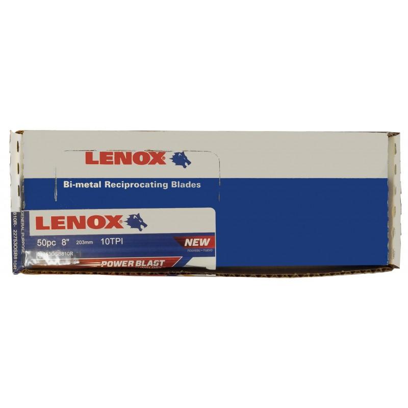 "LENOX BI-METAL Reciprocating Saw Blade 8"""