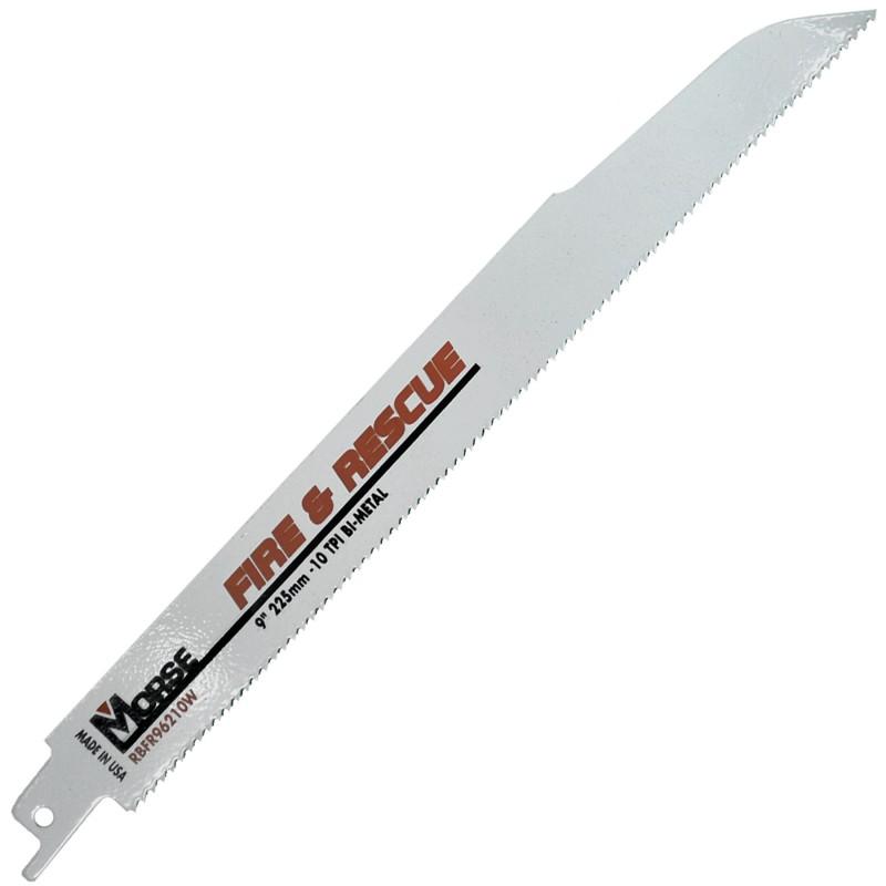 """MORSE Fire and Rescue Blade 9"""" 10 TPI"""