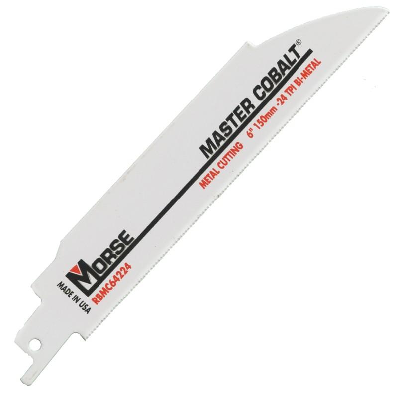 "MORSE Reciprocating Master Cobalt Blade 6"""