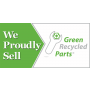 Green Recycled Parts Banner 3' x 6' 13 oz Vinyl