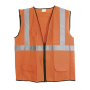 Surveyors Vest - ANSI Class 2 Orange