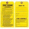 Maintenance Pre-Installation & Warranty Tags - Engine